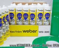 Bao gia keo WEBER Silicone WS-300 cao cap tai HCM