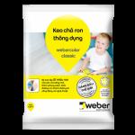 Keo cha ron noi that Weber.color Classic G01 Trang